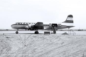 Douglas C-54A EP-ADK (sn 10348)