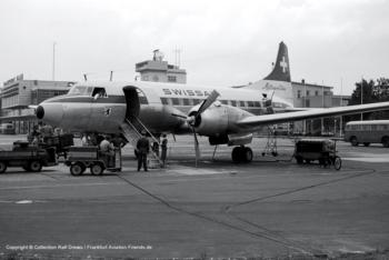 """HB-IMC Swissair Convair CV-440-11 Metropolitan (sn 332) """"Appenzell"""""""