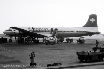 HB-IBC Swissair Douglas DC-6B (sn 43547 / ln 204)