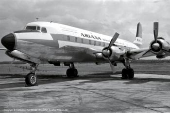 YA-DAN Ariana Afghan Airlines Douglas DC-6A (sn 44259 / ln 475)