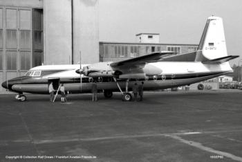 D-BATU Fokker F-27 Friendship (sn 10137)