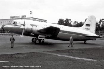 D-AFUS Deutscher Flugdienst Vickers Viking 1B (sn 250)
