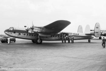 Avro York G-AMXM (sn MW323)