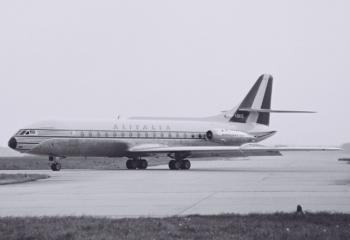 AZ Caravelle I-DAXE FRA  ca 1961