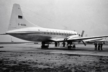 D-BOBA Deutsche Flugdienst Convair 240 (ln 145), FRA 10/1957