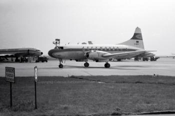 D-BEPE Lufthansa Convair 240 (ln 79), FRA 06/1961