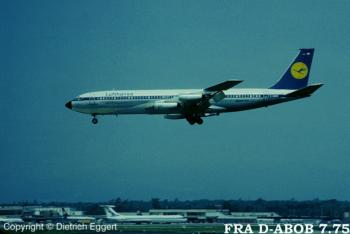 D-ABOB Lufthansa Boeing 707-430 -cn 17718 / 90
