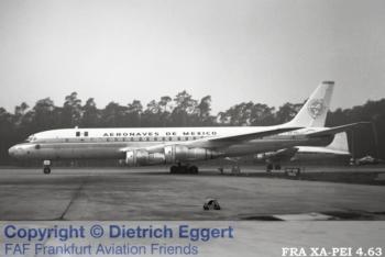 """XA-PEI Aeronaves de México Douglas DC-8-51 - cn 45652 / ln 176 """"Tenochtitlan"""""""