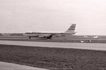 VH-EBD QANTAS Boeing 707-138 (ln 54), FRA 1960