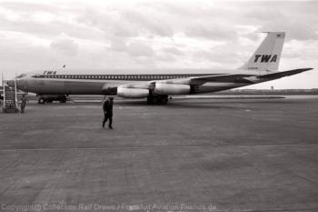 N764TW TWA Trans World Airlines Boeing 707-331 (ln 86) FRA 1960