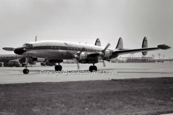 EC-AQL Iberia Lockheed L.1049 (ln 4553) FRA 1961